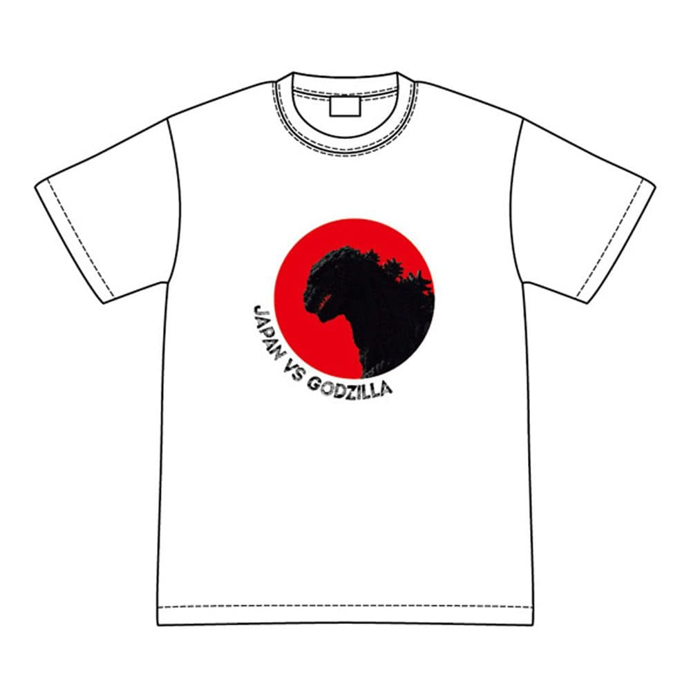 JAPAN VS GODZILLA Tシャツ