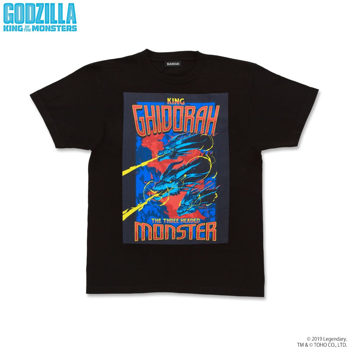 GODZILLA King of the Monsters キングギドラTシャツ