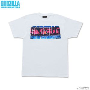 GODZILLA King of the Monsters ロゴTシャツ