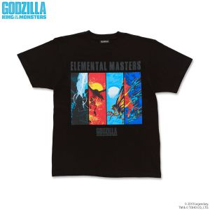 GODZILLA King of the Monsters エレメンタルTシャツ